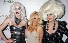 Happy 50th Birthday Pamela Anderson! #pamelaanderson #baywatch #sharonneedles #ladybunny #rpdr #lipsnyc #lipsatl #lipsfla