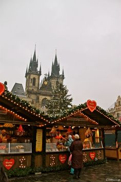 Christmas Markets: Old Town Square in Prague.  http://cherylhoward.com/2011/12/06/christmas-markets-old-town-square-in-prague/