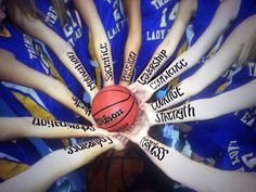 Cool Team Picture For Any Sport #basketballforgirls