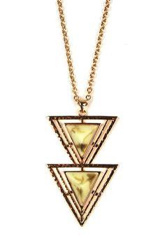 Isosceles Necklace @spottedmoth