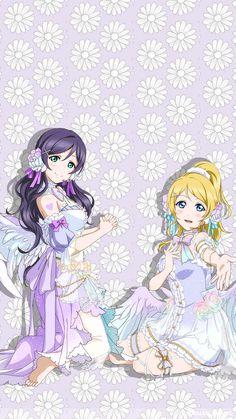 Nozomi & Eli Anime Best Friends, Love Live Nozomi, Childhood Friends, Live Wallpapers, Art Journal Inspiration, Love Life, Anime Love, Kinder Art, Manga Anime
