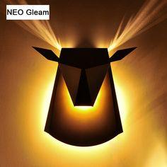 NEO gleam LED Настенные светильники бра светильники приспособление для Гостиная лестница балкон Спальня дома современные декоративные настенные светильники светодиодные