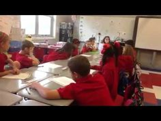 A great idea for structuring substantive conversation in the classroom -3rd grade Socratic Seminar - YouTube
