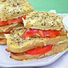 Herbs de Provence Grilled Cheese
