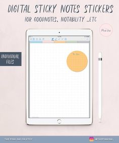 Digital Circle graph grid organization Note Stickers for GoodNotes, Stickers Pack, Digital stickers Circle Graph, Business Planner, Studyblr, Ipad Tablet, Planner Template, Work From Home Moms, Sticky Notes, Planners, Grid