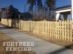Residential Wood Fencing Fortress Fences Western Red Cedar Pine