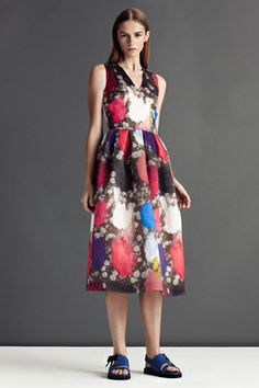 This dress from Christopher Kane Resort 2013