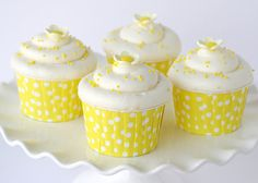 Lemon Lemon Lemon Cupcakes