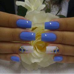 Head over Heels - 2401 Likes 29 Comments - Giselle Blanco. Glam Nails, Cute Nails, Nail Deco, Hair And Nails, My Nails, Nail Jewelry, Diy Nail Designs, Beautiful Nail Designs, Gorgeous Nails