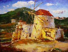 Greece 65x80 oil on canvas 2002