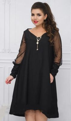 Elegant Long Sleeve Mesh Jewel Hi-Lo Loose Women s Evening Dress 2XL-6XL 3  Colors. Plus Size ... 37c7bdd3fa76