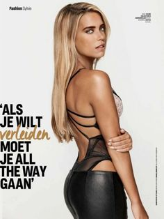 SYLVIE MEIS in Cosmopolitan Magazine, Netherlands November 2015 Issue