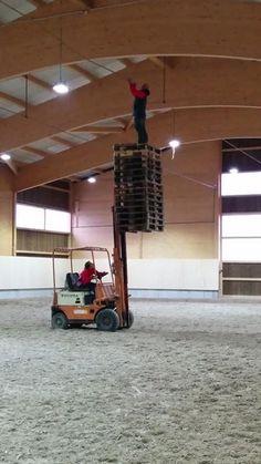 Safety pallets in proper use