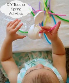 Perfect DIY Spring Toddler Activities from Natural Beach Living