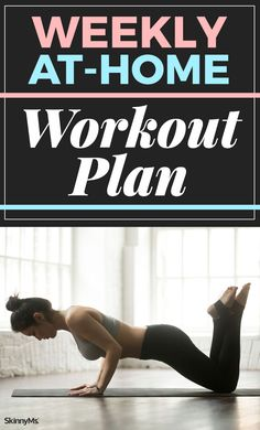 Try this Weekly At-Home Workout Plan to loose weight and build muscle. | Best Home Workout | Full Body Workout