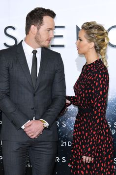 Jennifer Lawrence & Chris Pratt