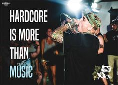 Hardcore is more than music - Hardcore Help Foundation