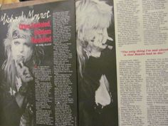 Hanoi Rocks, Michael Monroe, Two Page Vintage Clipping in Entertainment Memorabilia, Music Memorabilia, Rock & Pop | eBay!
