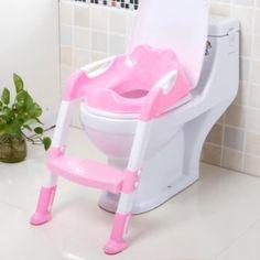 อย่าช้า  baby_kidsonline ฝารองชักโครกเด็กแบบมีบันได (สีชมพู)  ราคาเพียง  630 บาท  เท่านั้น คุณสมบัติ มีดังนี้ ผลิตจากพลาสติกเนื้อดี แข็งแรงทนทาน รับน้ำหนักได้ 40กิโลกรัม บริเวณฐานรองนั่งมีที่รองหลังรูปแพนด้าเพื่อให้ลูกน้อยนั่งสบายยิ่งขึ้น ขาตั้งบันไดมียางกันลื่นและสามารถปรับความสูงได้ 5 ระดับ บันไดเหยียบ ออกแบบแข็งแรงมีลวดลายเพื่อป้องกันลื่น สามารถปรับความสูงได้ 2 ระดับ พับเก็บง่าย ไม่เกะกะ
