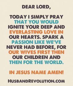 Prayer: Ignite Your Love In Me