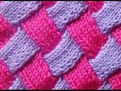 Learn how to knit entrelac! This clip is from Knitting Daily TV episode Play with Color. Eunny Jang gives a quick lesson on entrelac colorwork knitting,. Knitting Daily, Knitting Stiches, Knitting Videos, Crochet Videos, Knitting Needles, Free Knitting, Crochet Stitches, Baby Knitting, Knit Crochet