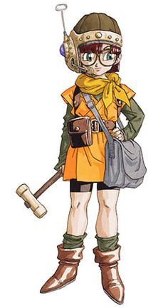 Lucca from Chrono Trigger. Favorite game character <3