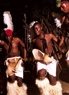 Brides.com: Destination Wedding Style: South Africa. Wearing ceremonial feathers and skins, Shangaan tribal members singing native wedding songs bring the crowd to their feet. African music CDs are widely available in shops and online; afropopshop.org has a huge selection.