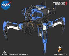 ArtStation - NASA TERA-SD7 , Paul Dave Malla