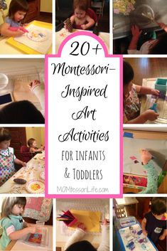 20+ Montessori-Inspired Art Activities for Infants and Toddlers – MOMtessori Life