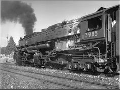 american steam train