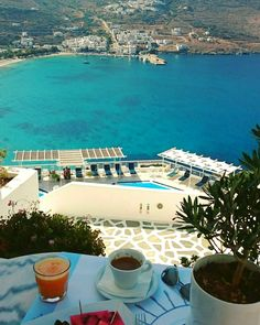 """See 74 photos from 635 visitors about quiet, romantic, and sunsets. """"The island-hymn to the beauty of the sea,is one of the most romantic. Most Romantic, Greece, Scenery, Island, Sunset, Breakfast, Places, Outdoor Decor, Photos"""