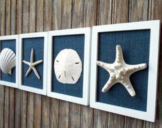 Beach Cottage Chic Wall Art Nautical Decor by OMearasCottageCharm