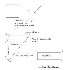 AMINA CREATIONS: HOW TO STITCH A DHOTI PANT/ SALWAR