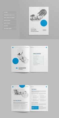 #brochure #template #indesign #corporate #proposal