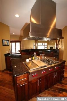 OH YEAH!!! except glass top stove extra big! What can i say I love to cook!!! Dream Kitchen
