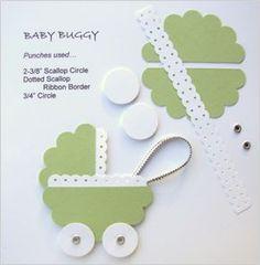 Buggy ~ http://www.polkadotsandpaper.net/2010/08/punch-art-5.html