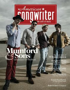 They're in the November/December edition of American Songwriter!  ...except they're not American, lol.