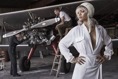 Rihanna Channels Amelia Earhart on the Cover of 'Harper's Bazaar' - MISSBISH | Women's Fashion Fitness & Lifestyle Magazine