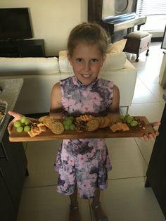 Kiddies cheese platter