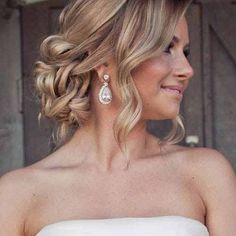 loose prom hairstyles prom hairstyles for long hair down curly regarding loose c. - loose prom hairstyles prom hairstyles for long hair down curly regarding loose curly updo wedding h - Curly Wedding Hair, Wedding Hairstyles For Long Hair, Loose Hairstyles, Wedding Hair And Makeup, Bride Hairstyles, Bridal Hair, Hair Updos For Prom, Shag Hairstyles, Curly Haircuts