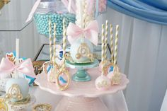 Khole's Cinderella Birthday Party | CatchMyParty.com