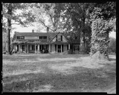 Buckhead Springs, Centralia, Chesterfield Co. Home of Thomas Wheelwright.