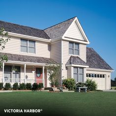 Vinyl siding exterior ashton heights from variform is a for Ashton heights siding