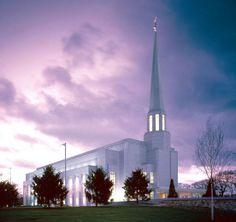 The beautiful Preston England Temple. LDS. Mormon.