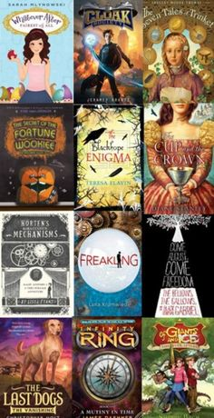 fantastic middle grade chapter books for you kids ages 7 - 10!