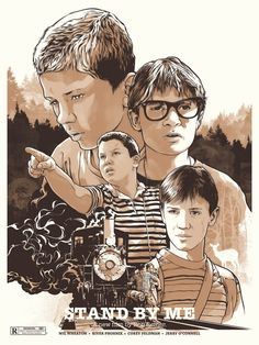 movie stand by me | Joshua Budich Stand By Me Poster