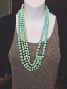 premier designs    seabreeze necklace.  I own this and would love suggestions on what to pair it with.