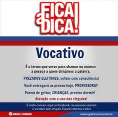 Português - Vocativo