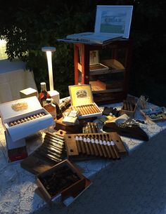 Cigar Service presso villa Canton by Cigars and Co