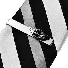 Geoffrey Beene Mens Rectangular Necktie Tie Bar Clip
